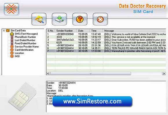 Utilit??rio revive SMS guardados de SIM